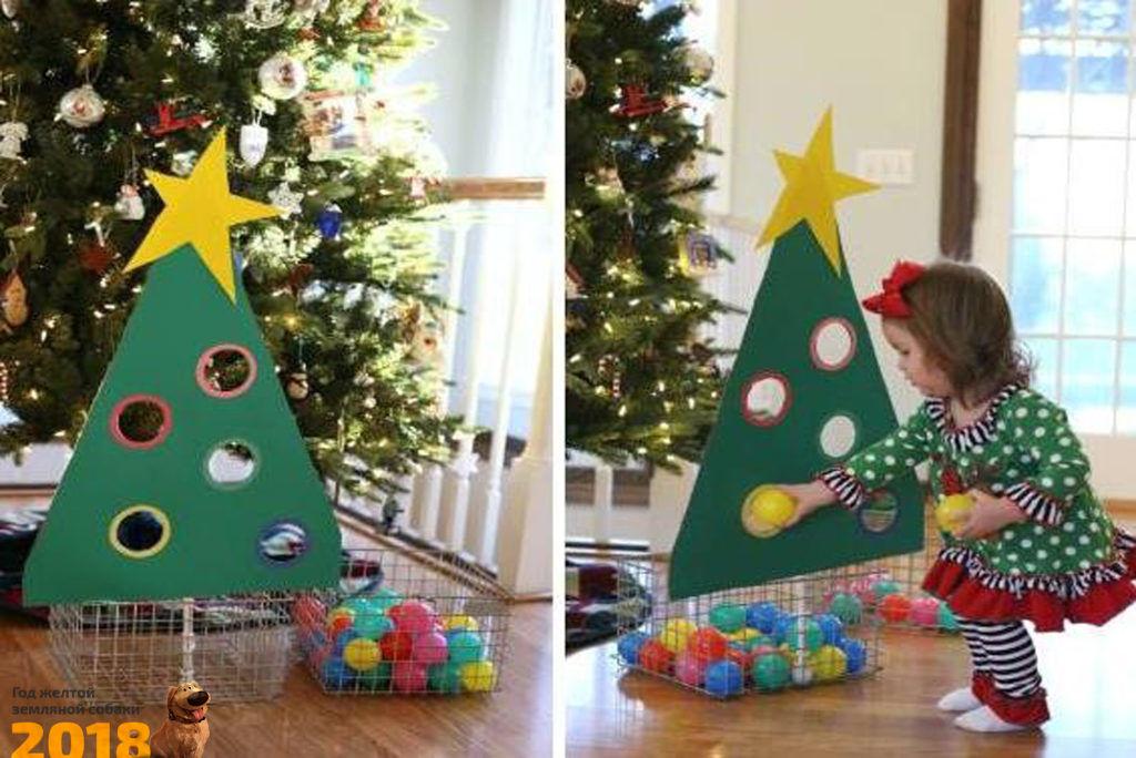 Новогодние игры для детей на Новый год 2019 - Игра елка