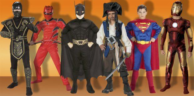 Новогодние костюмы супергерои для мальчиков 2019