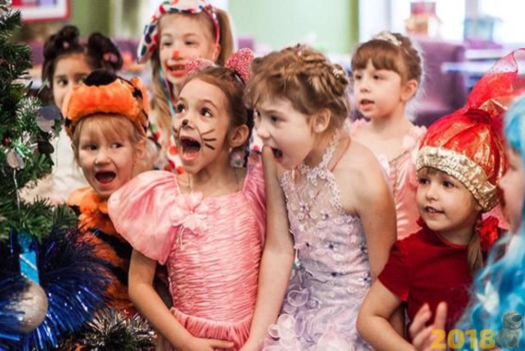 Новогодний утренник - Новогодние игры для детей на Новый год 2019