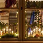 Новогоднее украшение для окна