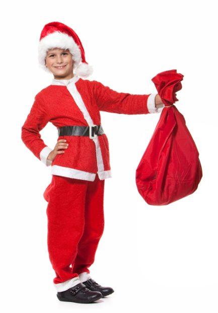 Новогодний костюм Санта Клауса для мальчика 2019