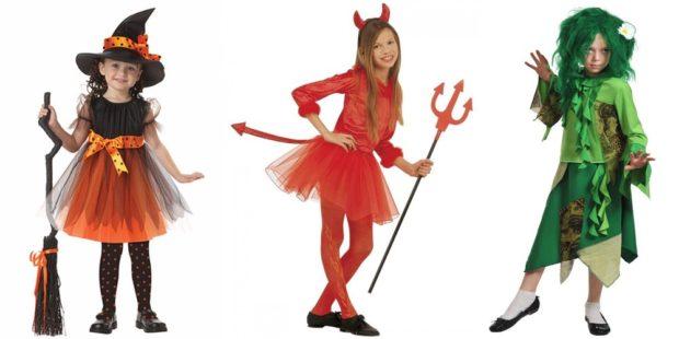 Новогодние костюмы 2019 отрицательных героинь для девочек