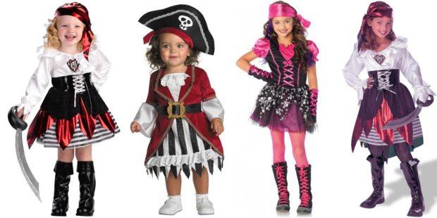 Новогодние костюмы 2019 пиратки для девочек