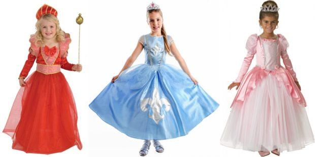 Новогодние костюмы 2019 царские особы для девочек