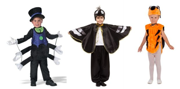 Новогодние костюмы насекомые для мальчиков 2019