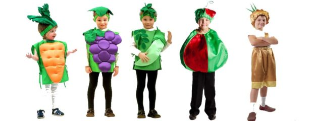 Новогодние костюмы продукты для мальчиков 2019