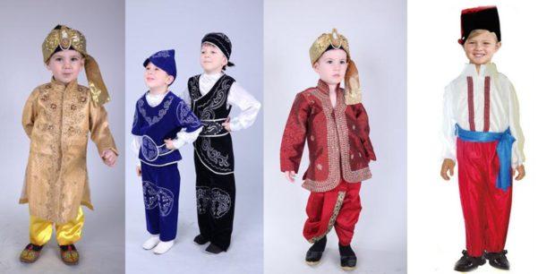 Новогодние костюмы национальные для мальчиков 2019