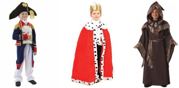 Новогодние костюмы монаршие особы для мальчиков 2019