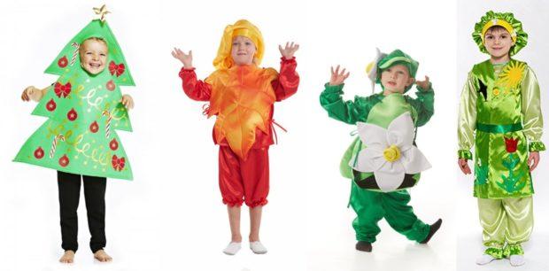 Новогодние костюмы времена года для мальчиков 2019