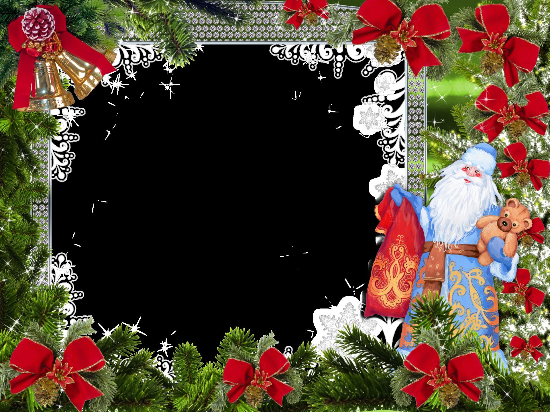 новогодние рамки для фотошопа 2016 на прозрачном фоне паук