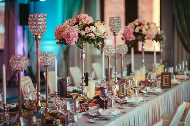 Место празднования свадьбы 2018