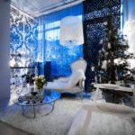 Новогодний интерьер с елкой