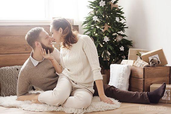Фотосессия для влюбленных на новый год 2018
