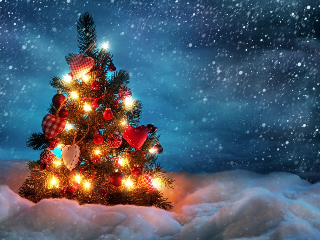 Новогодняя елка на Новый год 2018