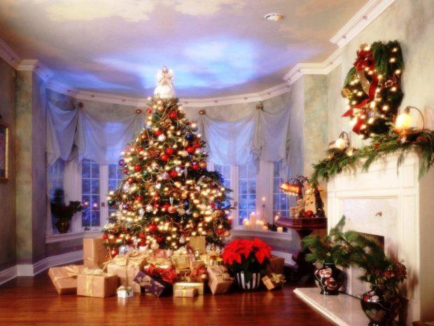Как украсить дом на Новый год 2018-2019