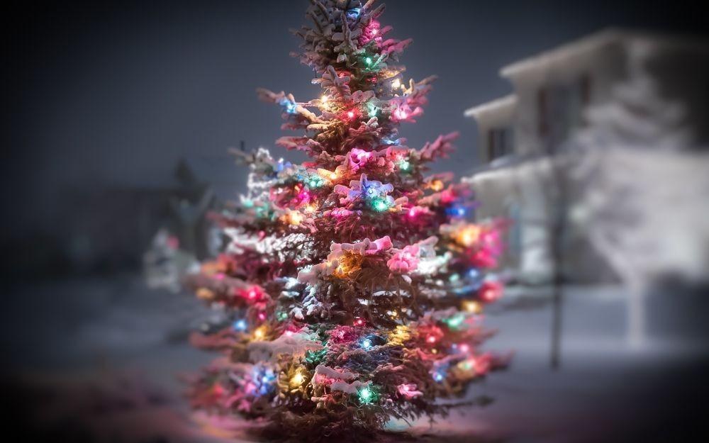 Стильная елка на новый 2018 год