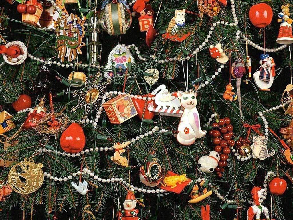 Необычная елка на новый год 2018