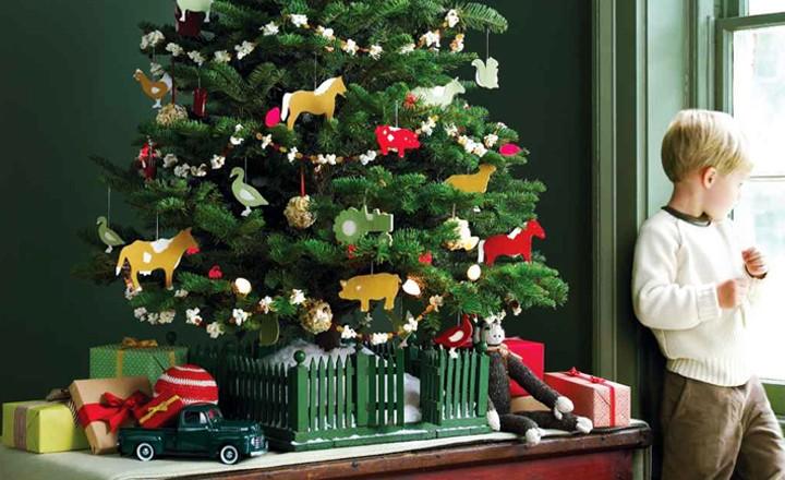 Как украсить елку на Новый год 2018, фото, разные варианты