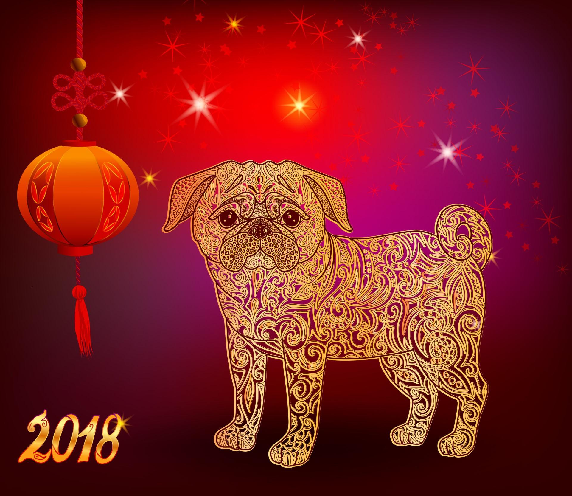 Новогодние картинки с символами года, праздником
