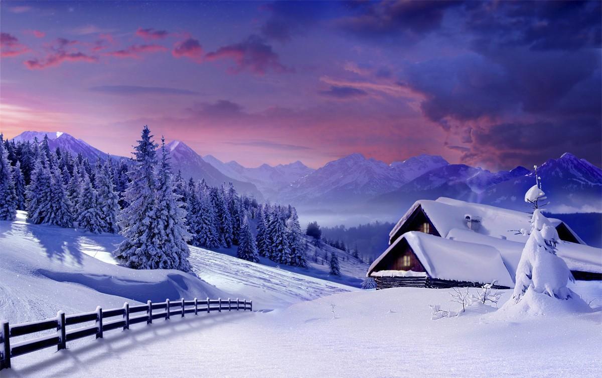 Картинки на зимнюю тему 2018