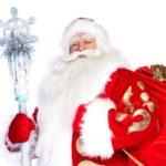 Новогодние обои на рабочий стол - дед мороз