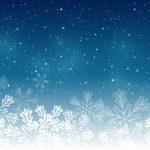 Обои для рабочего стола - новогодние снежинки