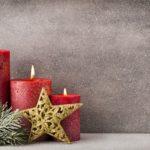 Обои для рабочего стола - рождественские свечи