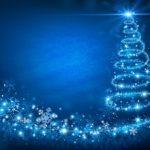 Обои для рабочего стола - новогодняя красивая елка