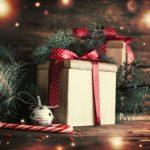 Обои для рабочего стола - новогодний подарки
