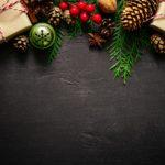 Обои для рабочего стола - новогодние подарки и игрушки