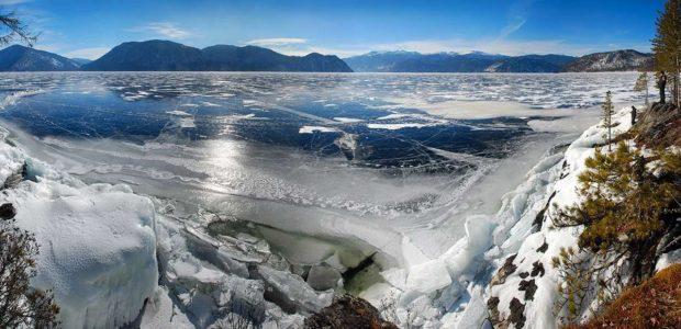 Телецкое озеро на новый год 2019
