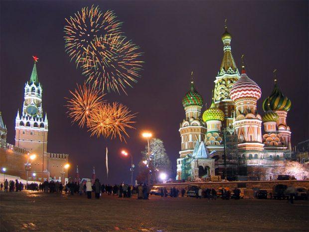 Новый год 2019 в России — лучшие места для встречи