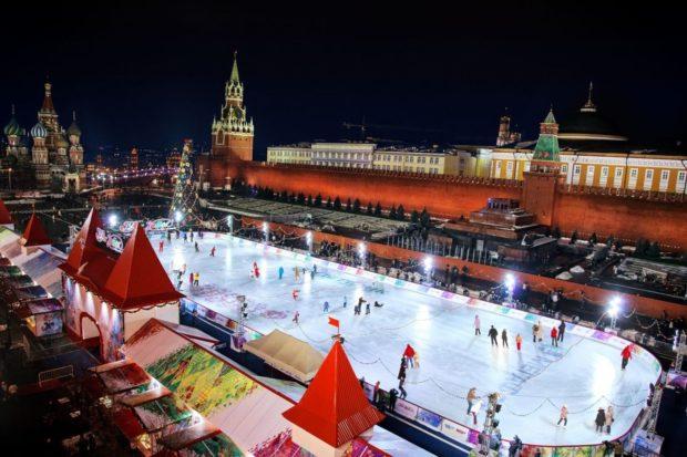 Москва на новый год 2019