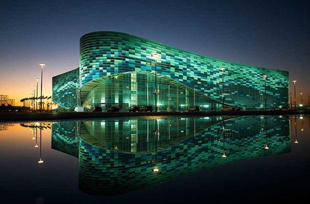 Ледовый дворец в Олимпийский на новый год 2019