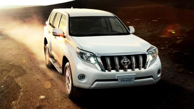 Toyota Land Cruiser Prado 2018 года
