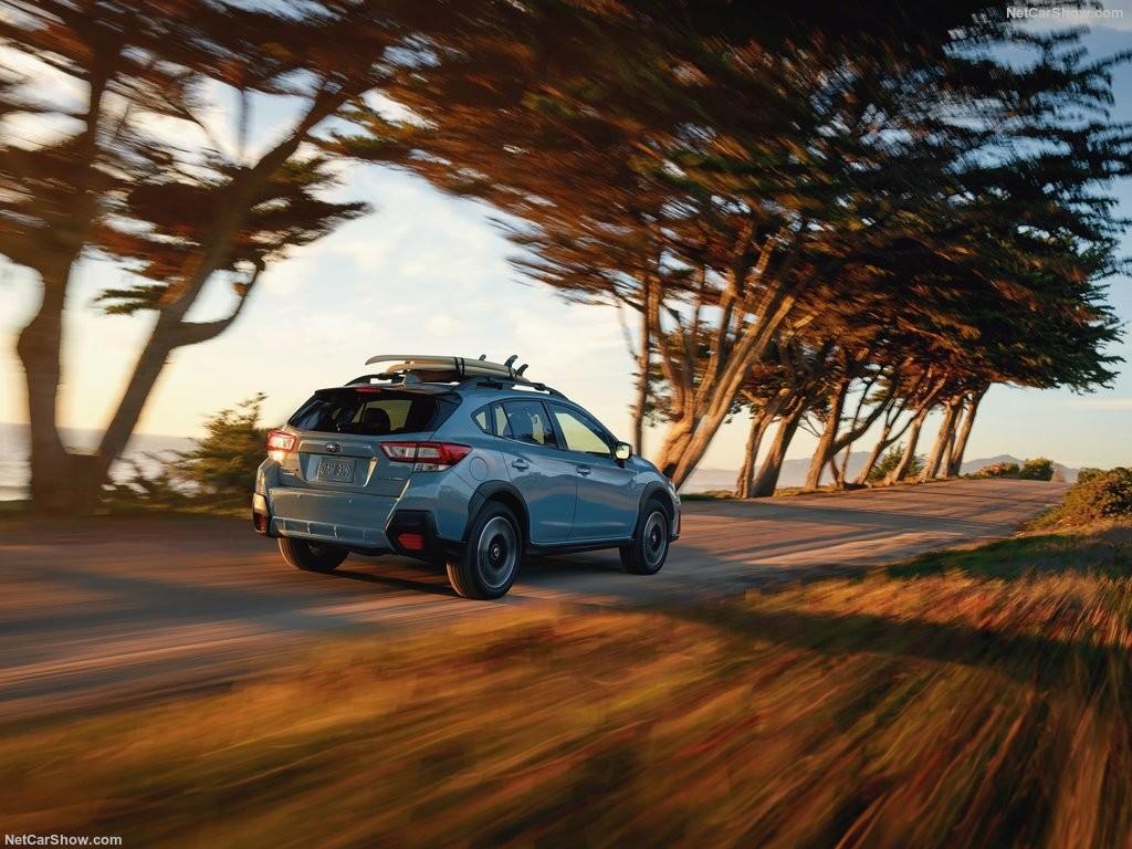 Обновленный кроссовер Subaru Crosstrek 2018