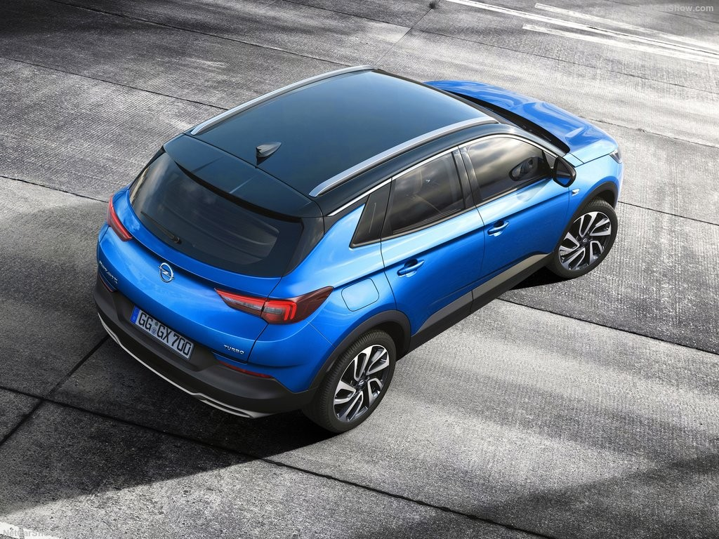 Габаритные размеры Opel Grandland X 2018 года