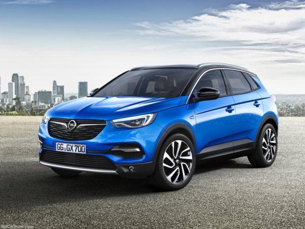 Opel Grandland X 2018 года: новый компактный кроссовер