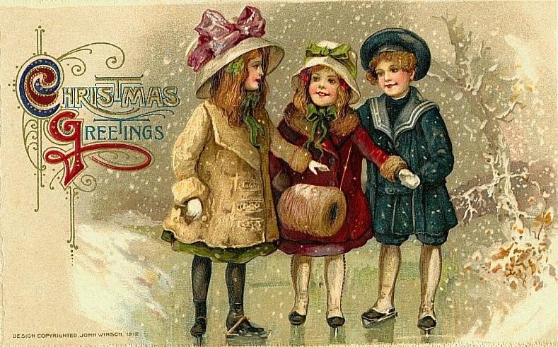 Рождественские открытки 2018 для близких