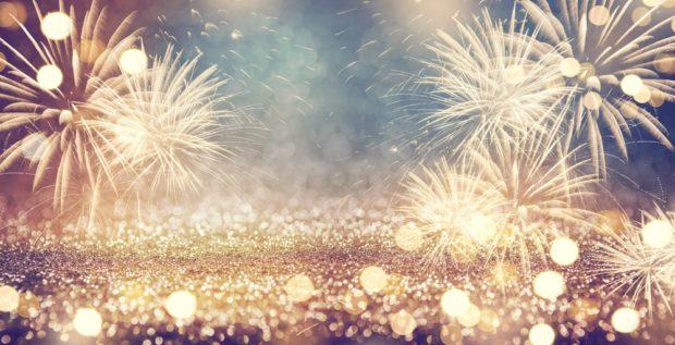 Открытка на Новый год 2019