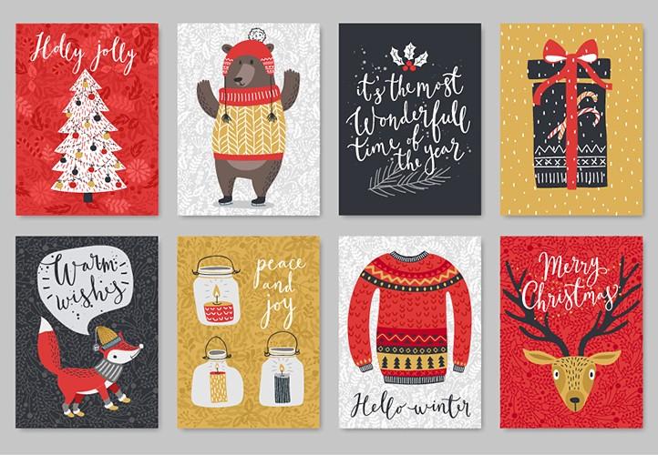 Смешные открытки на Новый год 2018