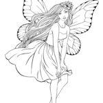 Раскраска фея
