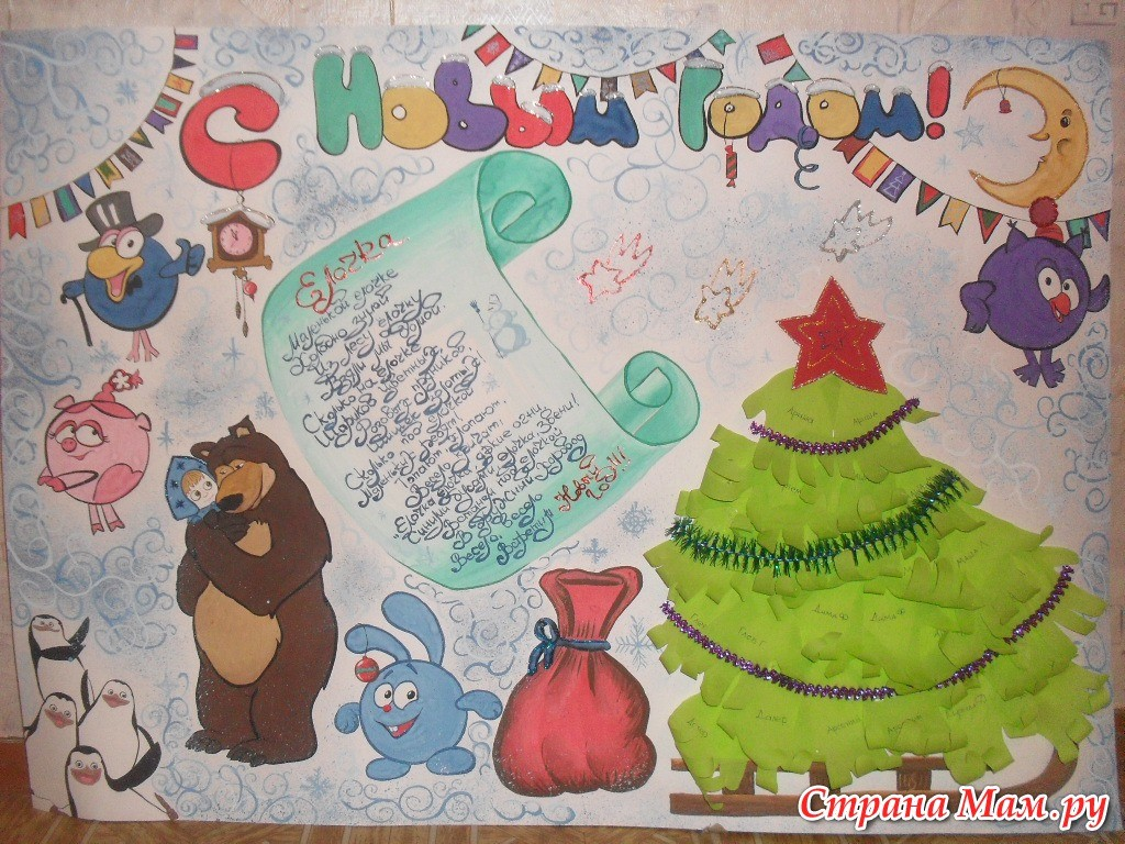 Картинки для новогоднего плаката