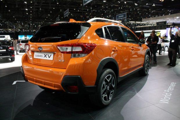 Обновленный кроссовер Subaru Crosstrek 2018 модельного года
