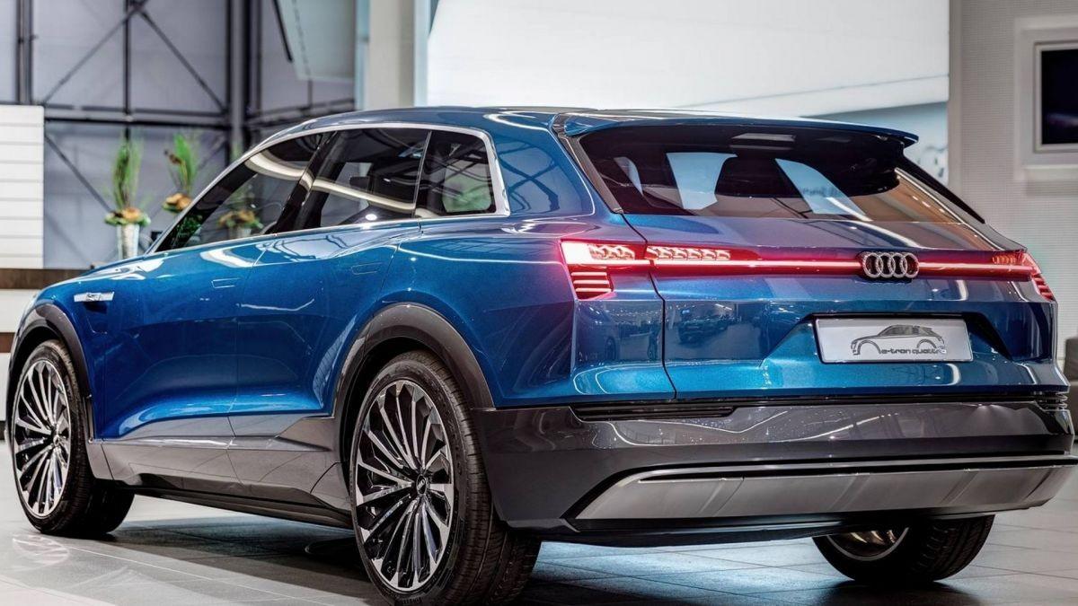 Audi E-Tron Quattro 2018 года