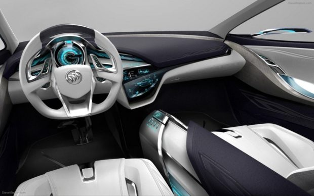 Интерьер Buick Velite 5 2018 года
