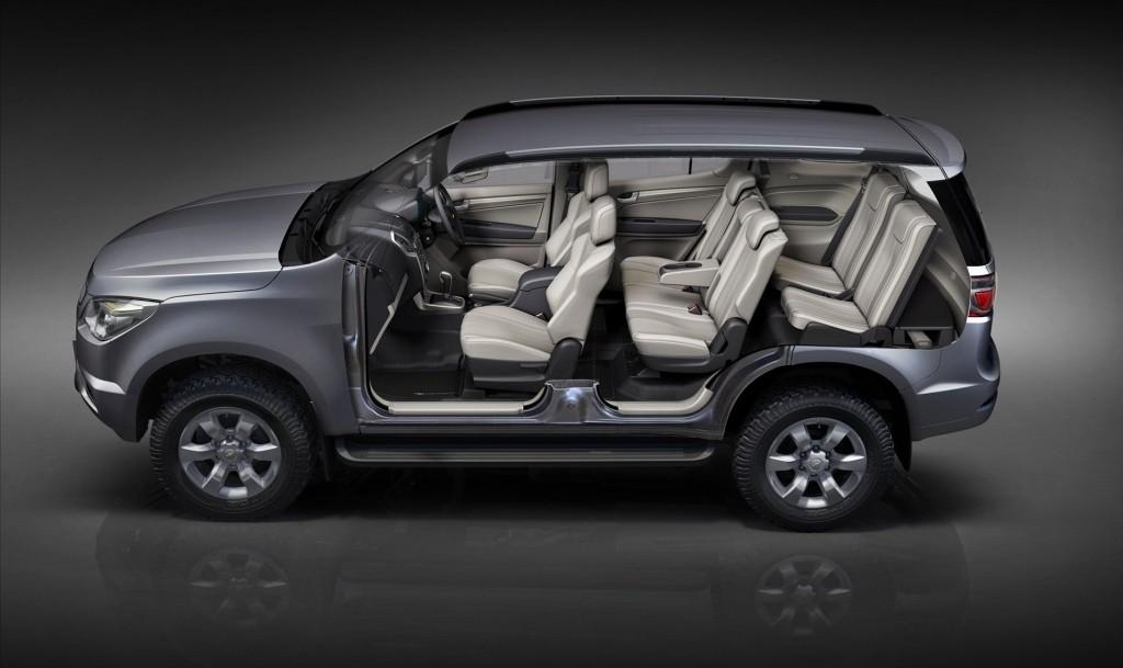 Дизайн интерьера Chevrolet Blezer