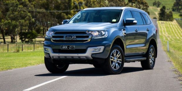 Ford Everest 2018 года