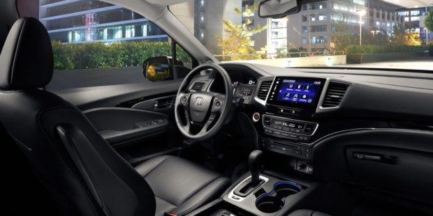 Дизайн интерьера Honda Pilot 2018 года