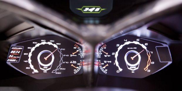 Дизайн интерьера Lamborghini Urus
